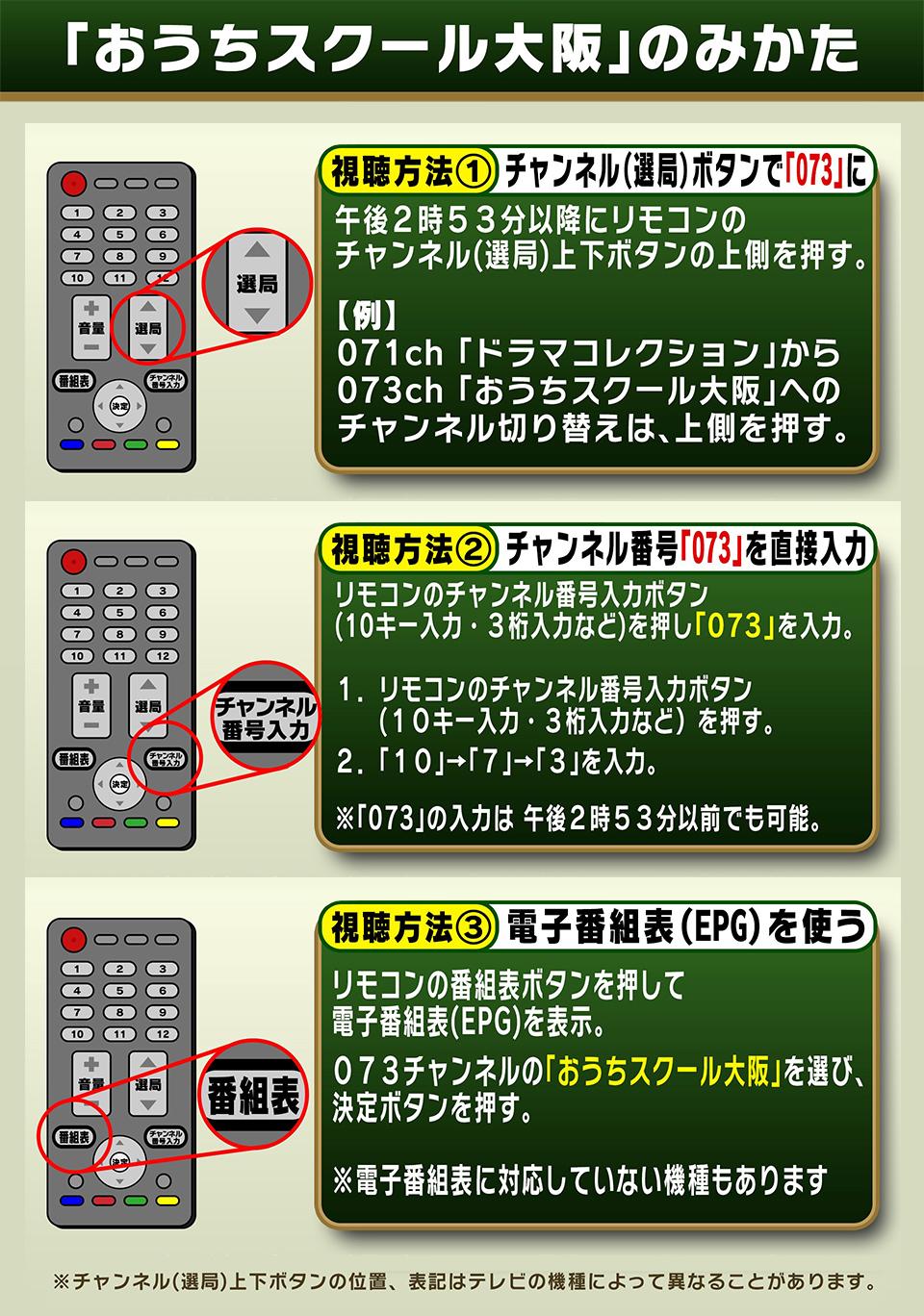 大阪 の テレビ 番組 表