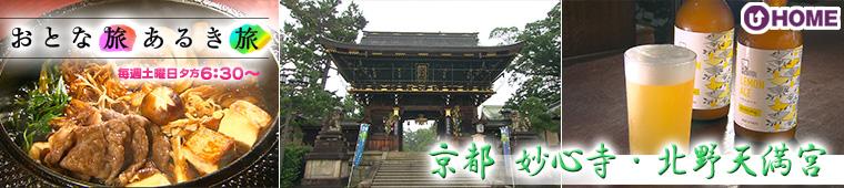 [2020.8.1]第551回「京都 妙心寺・北野天満宮」